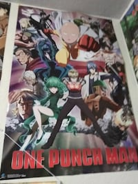 One punch man poster Evans, 80620