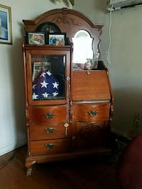 Antique Secretary Curio Phoenixville