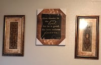Black and brown wooden wall decor 1211 mi