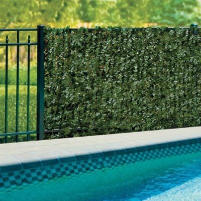 Set of Expandable Faux Ivy Privacy Fence ... Brand New!