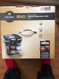 Keurig Espresso Cappuccino and Latte Maker