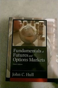 Fundamentals of Futures and Options Markets by John C. Hull book Guelph, N1G 5C3