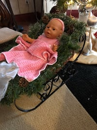 New Born baby doll with sleigh Pickering, L1X 2P3