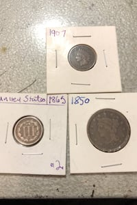 3 old American coins Calgary, T2Y 3E6