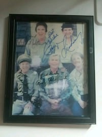 Andy Griffith and cast autographed photo