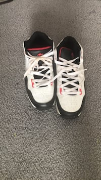 Pair of white-and-black basketball shoes Edmonton, T6T 1N6
