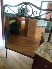 brown wooden framed wall mirror Bakersfield, 93304