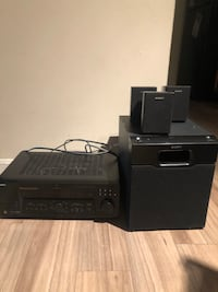 Sony Entertainment System Amplifier and Subwoofer Dumfries