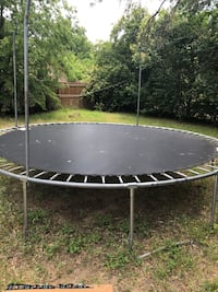 round black and gray trampoline Irving, 75062