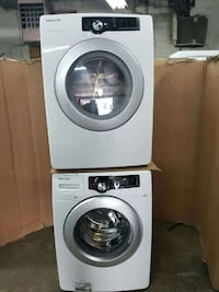 Samsung washer and dryer very clean
