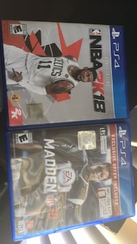 Two sony ps4 games Bakersfield, 93309