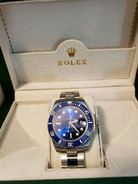 Swiss!  Blue Face / Bezel w SS Band! Automatic!  Tampa, 33634