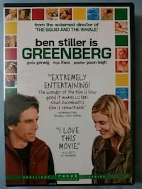 Greenberg dvd