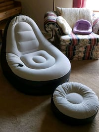 Blow up chair and ottoman St. Cloud