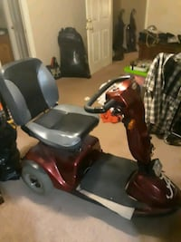 Handicap battery operated scooter