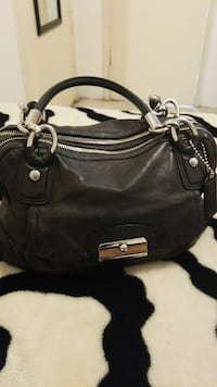 black leather shoulder bag Los Angeles