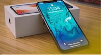 Brand new IPhoneX 256G with warranty and plastic on screen still 561 km