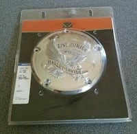 """Harley Davidson """"Live To Ride"""" Logo Derby Cover, 5-Hole - Multi Fit 25372-02A Calgary"""