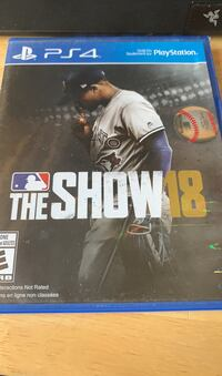 MLB the show 18 mint condition  Brantford, N3T 4H4