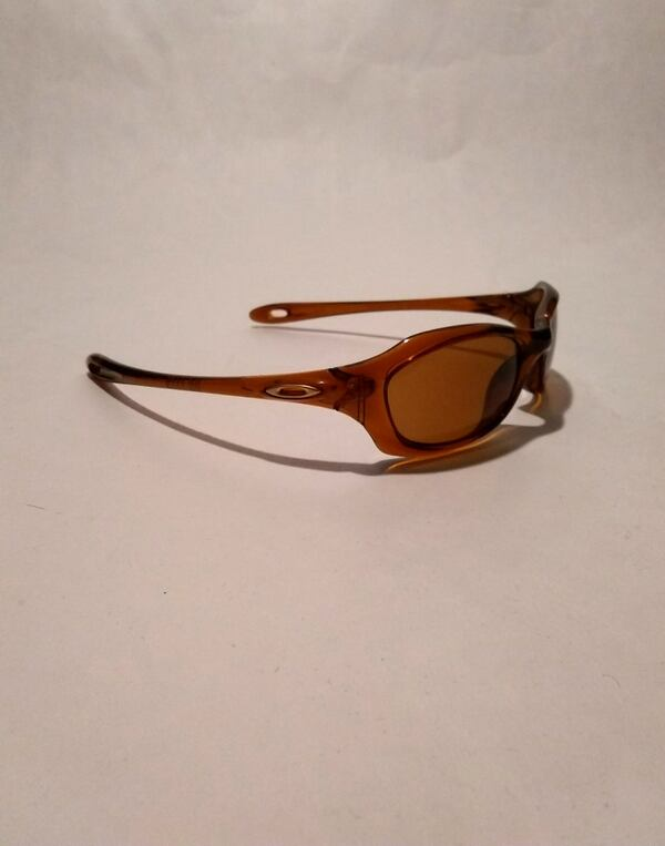 Oakley Xs Youth Kids Brown Wrap Sunglasses 1