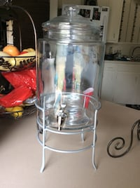 clear glass Juice Dispenser Abilene, 79605