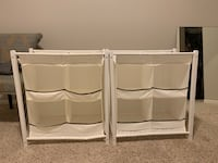Fabric and wood storage cubbies (both are available) Fargo, 58104