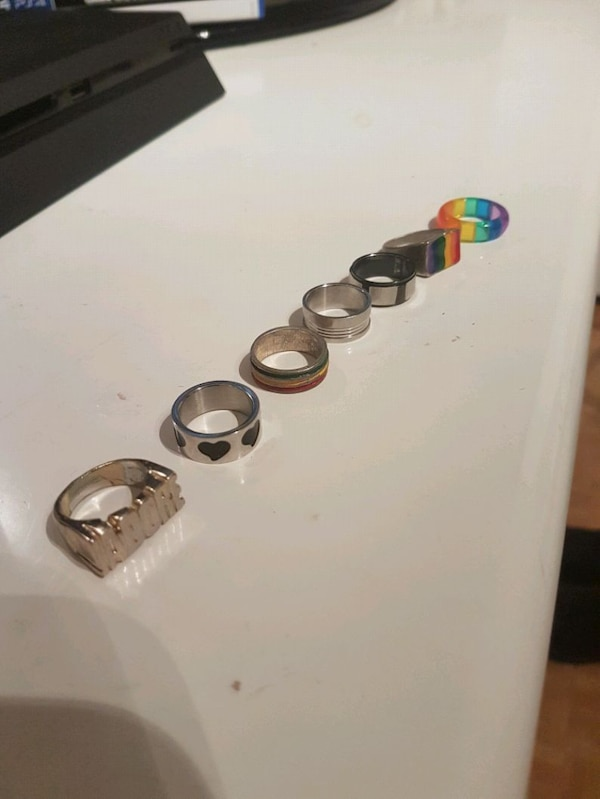 Assorted Rings 5 ea