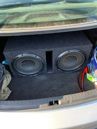 """Pioneer D series 12"""" subwoofer and HERTZ 4 channel amplifier"""