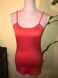 Reitmans Coral Tank Top - Size Small