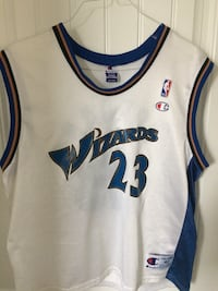 white Wizards 23 jersey shirt Langley, V4W 4A7