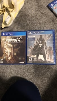 Fallout 4 and destiny ps4 West Monroe, 13167