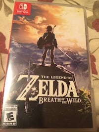 Sealed Legend of Zelda Breath of the Wild  Richmond, V7E 6P2
