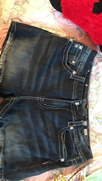 blue Miss Me denim shorts size 34