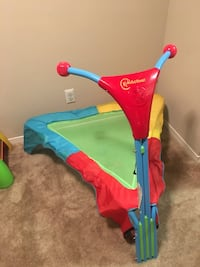 Baby's blue and red bouncer Ashburn