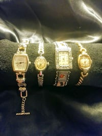 Vintage Gold plated&Stainless Wrist Watches