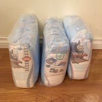 3-4T Pampers pull ups diapers - 93 pieces  Vancouver, V5V 3B4