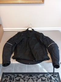 black zip-up jacket Elkridge