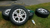 """20"""" nitto tires and wheels Springfield"""
