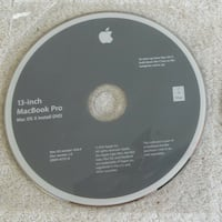 MacOS snow leopard install DVD for 13 inch MacBook pro 2010 model Vancouver, V6A