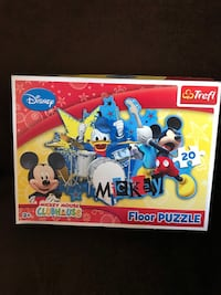 Disney Junior Trefl Mickey Mouse floor puzzle...