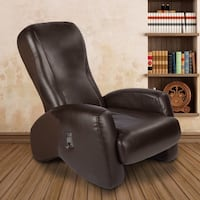 Massage chair - Brown leather padded Berlin, 08009