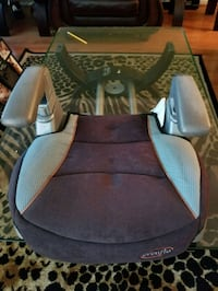 blue and black car seat 43 km