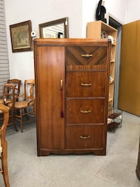 brown wooden cabinet with mirror Fort Washington