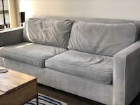 Grey West Elm Sofa
