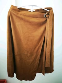 Brown Suede Faux Womens Skirt Size XS Mississauga, L5N 5J2