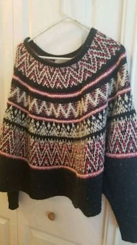 Anthropologie sweater-Worn twice Toronto, M2K 1J4