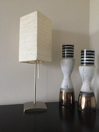 2 Modern paper square lamps  Fairfax, 22033