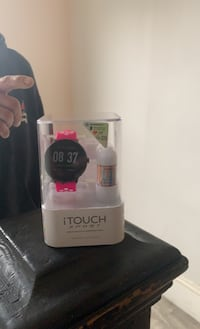I touch women's smart watch with ear buds