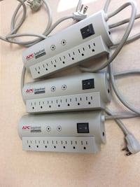 LIKE BRAND NEW!!! 3 Surge Protector 7 Outlet Power Strips. All Sold Together! Virginia Beach, 23453