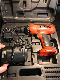 Black and decker 9v drill Virginia Beach, 23451